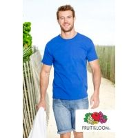Męska Koszulka Fruit of the Loom Ringspun Premium Tee 4XL-5XL