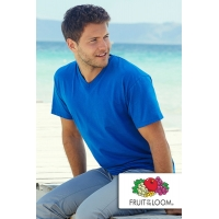 Koszulka Fruit of the Loom Valueweight V-Neck